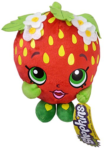 8 Inch Shopkins Soft Toy Figure - Strawberry Kiss