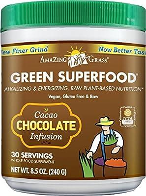 Amazing Grass Choc Green SuperFood 240g