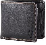 WildHorn Pure Luxuries Genuine Leather Black 8 card Wallet