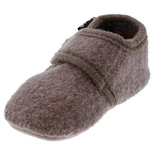 CELAVI Baby Unisex Wollschuhe, 100% Wolle, Größe: 21/22, Farbe: Lila (Dusty Lavender), 3953