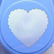 Artemio–Perforadora de 2,5cm Big Heart–Palanca de número 4, color naranja