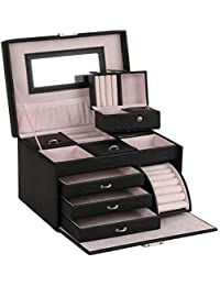 Large Jewellery Boxes Beads Storage Display Case jewellery Organizer