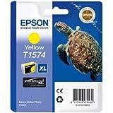 Epson T1574 Tintenpatrone Schildkröte, Singlepack gelb