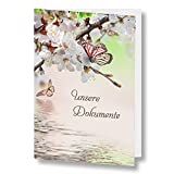 Traumappe A4 'Papillon' - Stammbuch der Familie Familienbuch Familienstammbuch Stammbaum Stammbücher