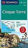 Cinque Terre: 3in1 Wanderkarte 1:35000 mit Aktiv Guide inklusive Karte zur offline Verwendung in der KOMPASS-App. Fahrradfahren. (KOMPASS-Wanderkarten, Band 2450)
