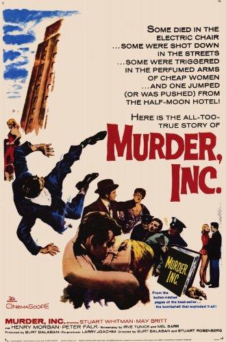Murder, Inc. Plakat Movie Poster (11 x 17 Inches - 28cm x 44cm) (1960)
