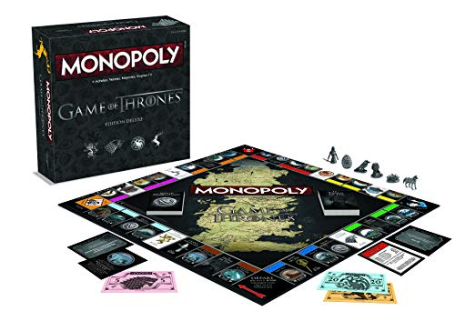 Winning Moves Monopoly Game of Thrones Deluxe