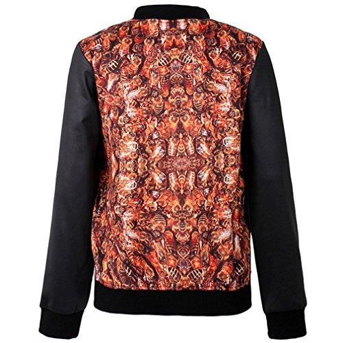 Thenice - Sweat-shirt spécial grossesse - À Rayures - Manches Longues - Femme Taille Unique abeille