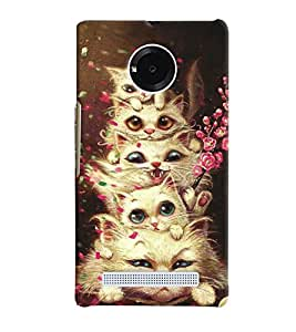 Micromax YU Yunique MULTICOLOR PRINTED BACK COVER FROM GADGET LOOKS