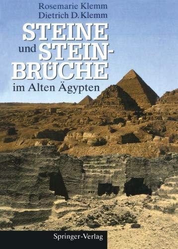 Steine und Steinbrüche im Alten Ägypten -