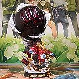 One Piece, One Piece, King Of Peace, Luffy F3, Kimono, Three Blocks, Luffy Statue Modelo Hecho A Mano Buena Calidad Diseño Creativo Regalo Para Novio Vale La Pena Recoger Hacer Feliz A La Gente