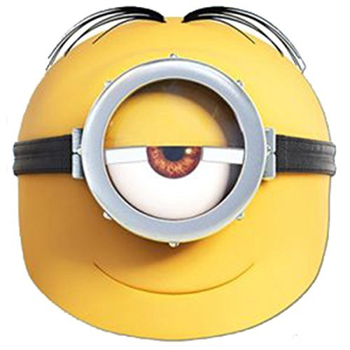 (Stuart Minion Despicable Me Mask Hen Stag Parties Christmas Party Halloween Fancy Dress New Fun Masks by Partyrama)