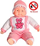Richy Toys Laughing Baby Stuffed Soft Plush Toy Love Girl, Color May Vary (42 cm)