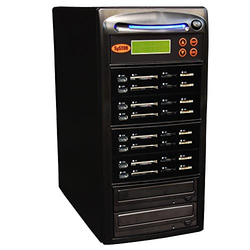 Systor 1-7 USB / SD / CF / MS Alles in einem Combo Flash Memory Drive Karten Disc Duplicator Pocket Disc Kanada