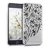 kwmobile Apple iPhone 6/6S Hülle - Handyhülle für Apple iPhone 6/6S - Handy Case in Schwarz Transparent