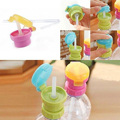 Zoomy far Zoomy loin: mignon enfants eau portable Bott boissons S Couvercle Preuve de paille Choke # 70151: vert