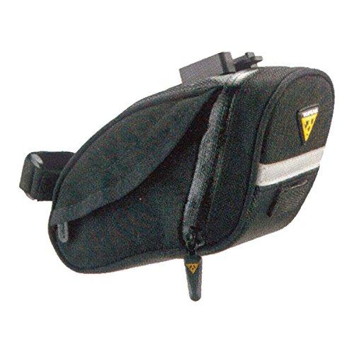 Topeak Satteltasche Mit Fixer F25 Aero Wedge Pack DX schwarz, 19 x 10 x 9.5 cm Nylon Wedges