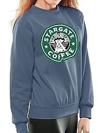 Stargate SGC Starbucks Coffee Women's Sweatshirt