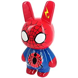 New York -Sculpture Crazy Bunny Pop Art Spiderman Factory Figurine Géante