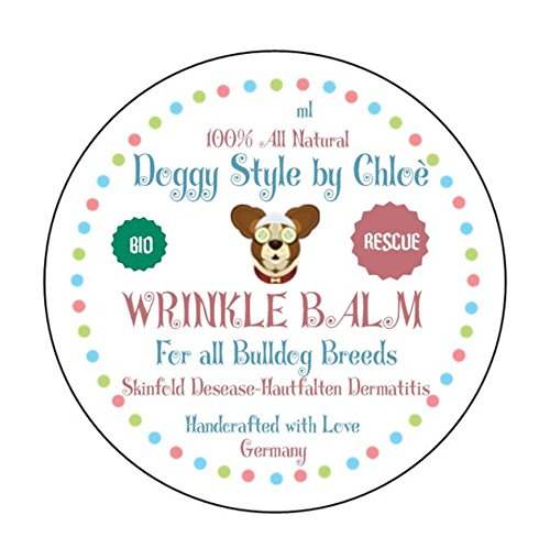 2Glam2GiveADamn Rescue Dog Skin Wrinkle Balm - 1. Hilfe Hunde Falten Balsam by Doggystyle by Chloè (Dog Rescue)