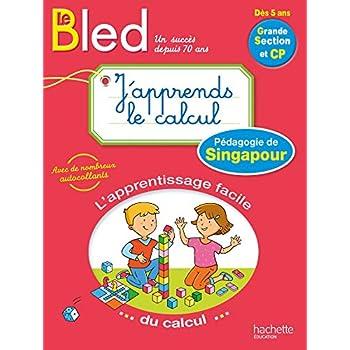 BLED - J'apprends le calcul avec la pédagogie de Singapour