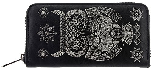 loungefly-cartera-para-mujer-de-material-sinttico-mujer-color-negro-talla-one-size