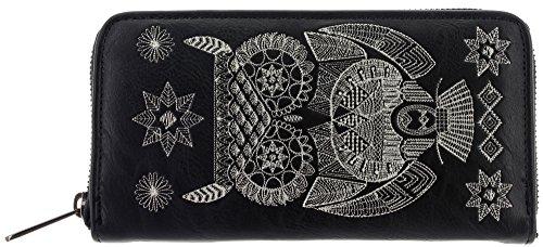 loungefly-portafogli-donna-nero-nero-one-size