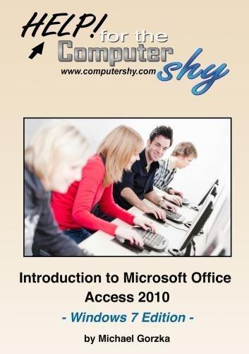 Preisvergleich Produktbild Introduction to Microsoft Office Access 2010 - Windows 7 Edition