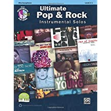 Ultimate Pop Instrumental Solos: Alto Sax, Book & CD (Alfred's Instrumental Play-Along, Level 2-3)