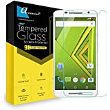 Ascension ® For Motorola Moto X Play Tempered Glass Gorilla Screen Protector Screen Guard High Premium Quality 9H Hard 2.5D Ultra Clear (Transparent)