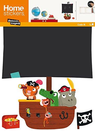 NOUVELLES IMAGES 170.001915.03 Sticker Mural Papier, Multicolore, 69,5 x 49 x 0,1 cm