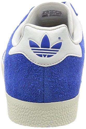 adidas Gazelle Super, Scarpe da Ginnastica Basse Uomo Blu (Blue/vintage White -st/gold Met.)