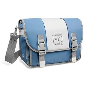 Speedlink Travel Bag Tragetasche für Nintendo Wii Konsole (Außenmaße (BxHxT) in cm: 34x24x14) blau