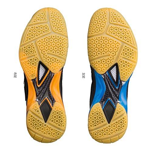 3937bde84f6 Yonex Badminton Shoes Shb 03EX LCW Black Orange UK 5