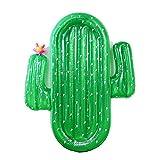 Gonfiabile cactus galleggiante fila acqua gigante giocattolo adulto piscina galleggiante letto 180 * 145 cm adatto per la piscina balneare festa