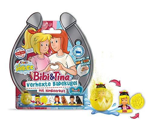 CRAZE Spaßbad Bibi&Tina INKEE Verhexte Duft Badekugel mit Überraschung BIBI & Tina 12468, bunt