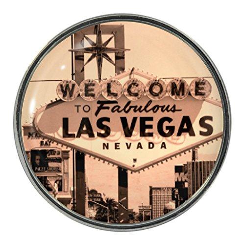Preisvergleich Produktbild Las Vegas Schild Design Metall-Pin Badge
