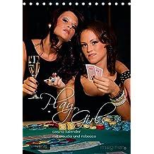 Play, Girls! Der Casino-KalenderAT-Version  (Tischkalender 2015 DIN A5 hoch): Kalender mit Claudia und Rebecca (Monatskalender, 14 Seiten)