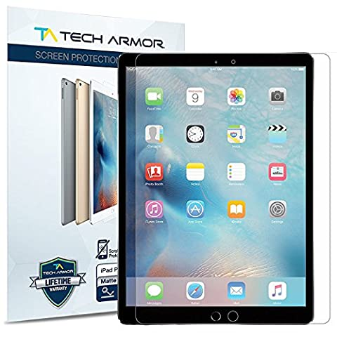 Tech Armor - Anti-Glare/Anti-Fingerprint Film Screen Protector for Apple iPad Pro (9.7 inch)
