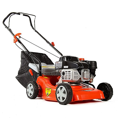 greencut-glm660sx-cortacesped-traccion-manual-motor-gasolina-cuarzo-40-cm-139cc-5cv-color-rojo