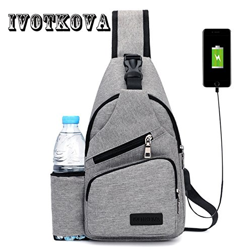 Buyworld Ivotkova Nylon Men Women Chest Pack Crossbody Bag Casual Travel  Rucksack Chest Bag Small Sling 5ccbca156cc4e