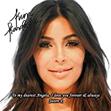 Kim Kardashian 1 Personalised Gift Print Mouse Mat Autograph Computer Rest Mouse Mat Compatible with Laser and Optical Mice (No Personalised Message)
