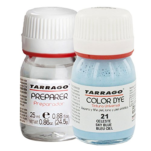 Tarrago Color Dye Tintura Color Autobrillante + Preparador 25 ml Celeste-21