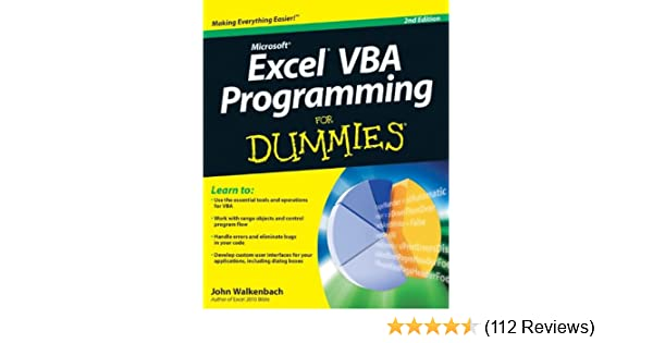 Excel VBA Programming for Dummies (For Dummies (Computers