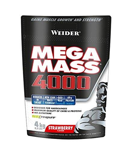 Weider Mega Mass Fresa Bag - 4000 gr
