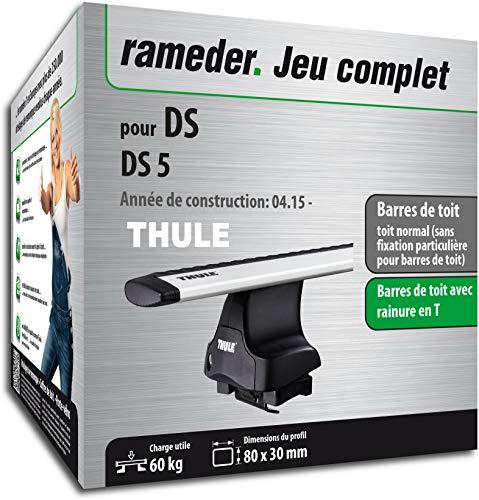 Rameder Pack Barres de Toit WingBar Evo pour DS DS 5 (114517-14959-2-FR)