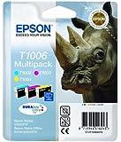 Epson Original Durabrite T1006 Rhino Colour Multipack Ink Cartridges