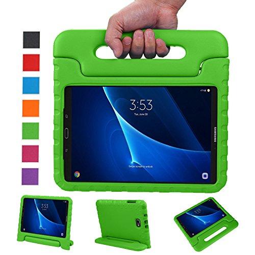 BELLESTYLE Samsung Galaxy Tab A 10.1 Funda- Protector de peso ligero a prueba de golpes Estuche para niños para Samsung Galaxy Tab A 10.1 pulgadas (SM-T580 / SM-T585) Tablet 2017 Release(Verde)