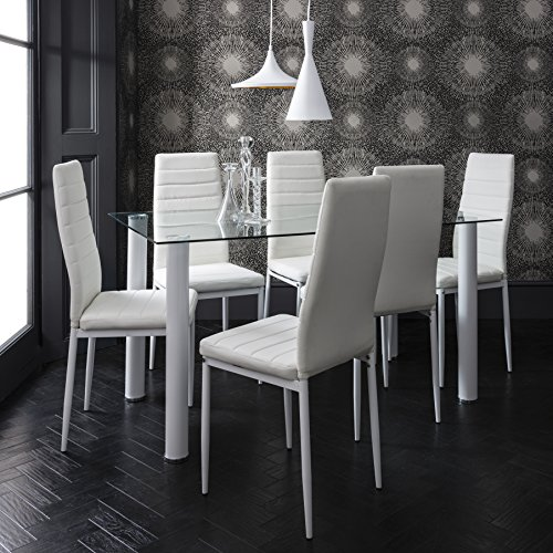 laura-james-dining-table-6-faux-leather-chairs-set-brand-new-white