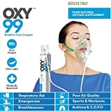#8: Oxy99 Portable Oxygen Can With Oxygen Face Mask